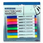 Premier White Board Markers Dry Wipe Office Coloured Markers